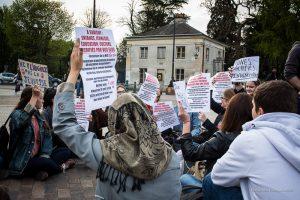 2015 - Mobilisation et manifestations à Savigny, Lycée Corot