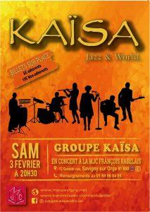 KAISA MJC concert le 3 février 2018