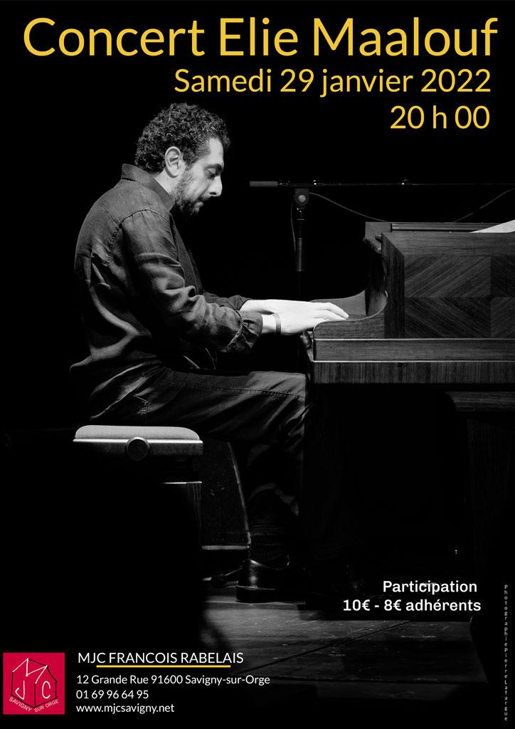 Concert Elie Maalouf vendredi 28 janvier 2022