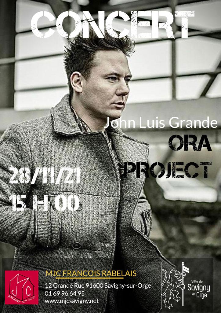 Concert Ora Project le 28 novembre 2021 à 15 h 00